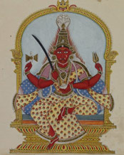 goddess Kali Early 19th Century